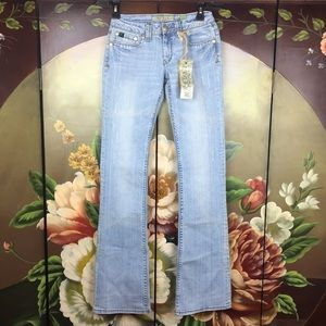 NWT REUSE Lightly Distressed Eco Friendly Jeans